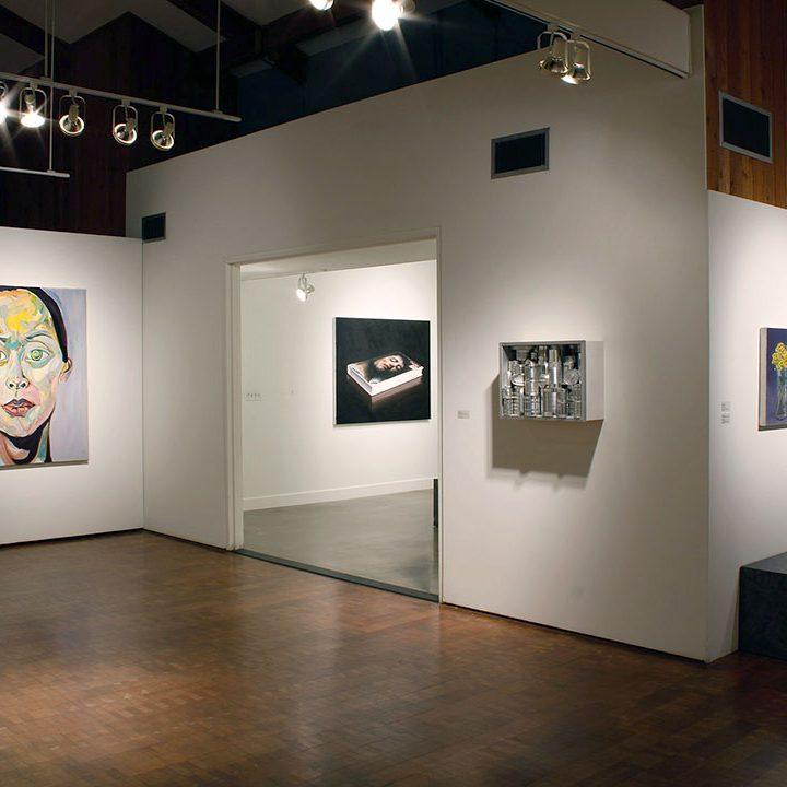 8-PORTRAITURE AND STILL LIFE-installation