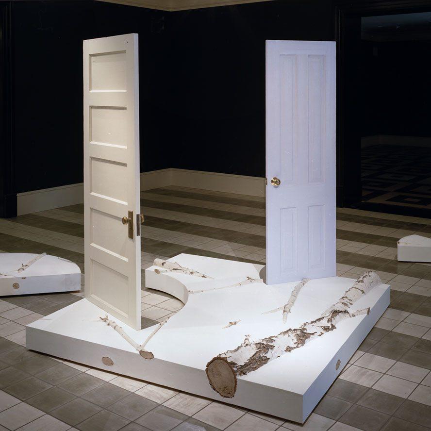 THREE SCULPTURES-Hayden-installation view 1